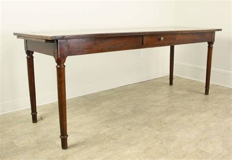 antique one drawer light cherry server narrow dining table