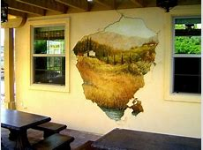 3 D Painting Wall Murals For Class Room Design Ideas ... Naturalistic Design Drawing
