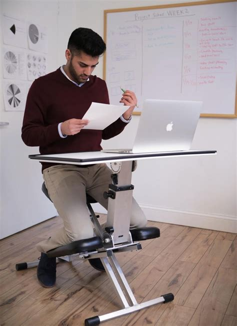 Laptop Knee Desk Pop Up Desk Invented For Small Spaces By Original Furby Team
