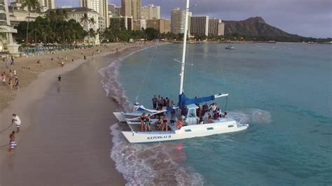 catamaran boat ride hawaii catamaran boat rides waikiki beach the best beaches in