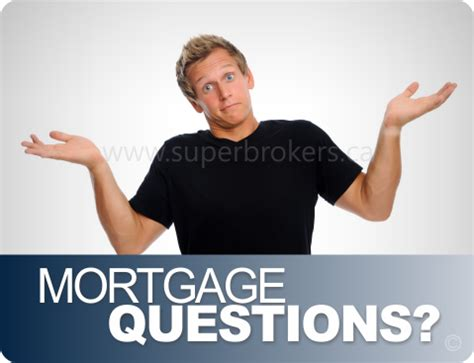 common time mortgage questions brokers by