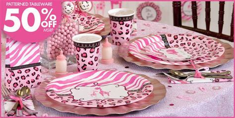 city baby shower themes pink safari baby shower supplies city baby