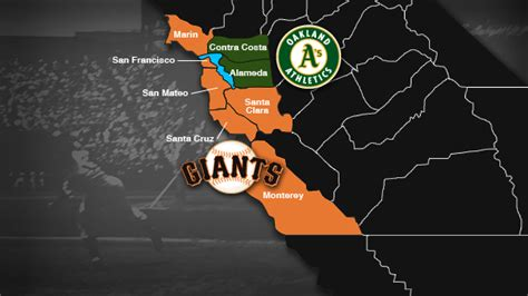 san francisco giants map mlb faces sticky situation with new a s stadium in san
