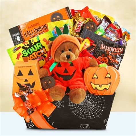 halloween pumpkin party spooky gift basket 7256 at print ez