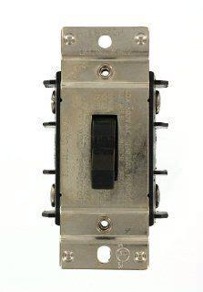 leviton 30 industrial pole switch white r62