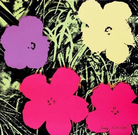 fiori andy warhol warhol