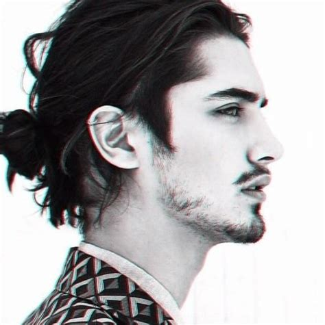 mens hair styles old fashion with pony tail trending pony hairstyling ideas for men hairzstyle com