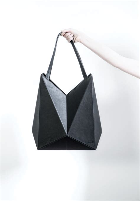 Origami Handbag - lifestyle brand finell launches debut handbag collection