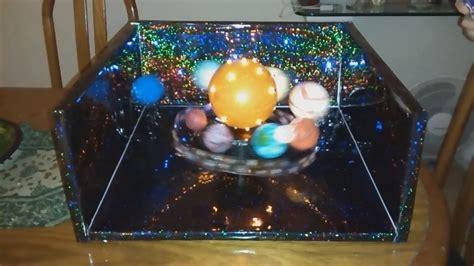 como hacer un planetario en una caja de zapatos maqueta sistema solar youtube