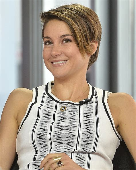 shirt haurcuts with diwd tips shailene woodley beauty tips short hairstyles and