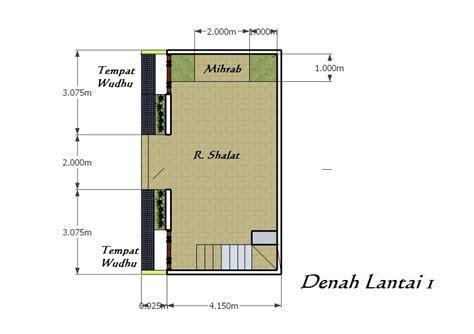desain mihrab mushola desain musholla tropis minimalis desain rumah tropis