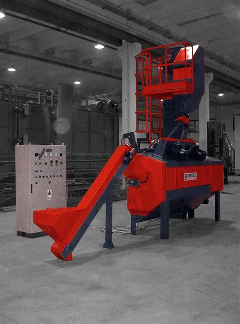 tappeto rotante granigliatrice a tappeto rotante gtfc richiedi informazioni