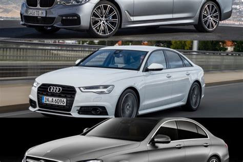 audi model comparison bmw 5 series vs mercedes e class vs audi a6 photo
