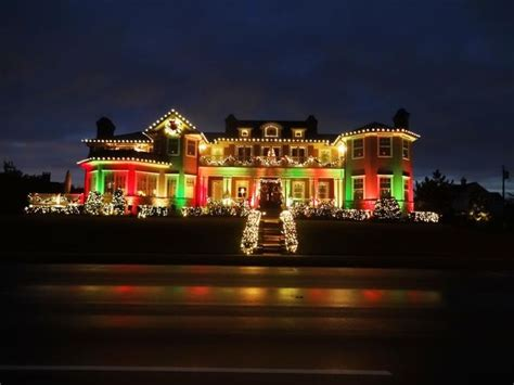 christmas lights union county nj monmouth county holiday lights tour mouthtoears com