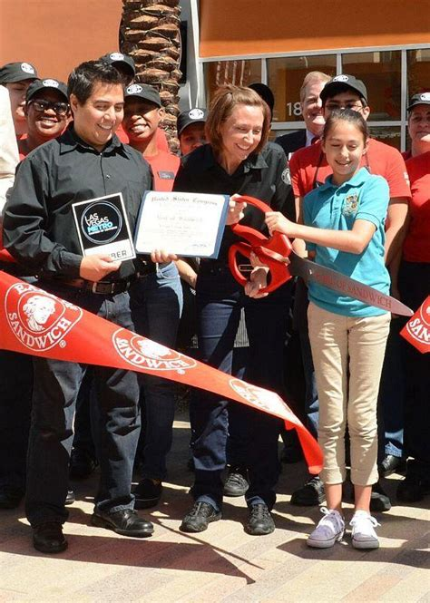 summerlin lions new year ribbon cutting ceremony at earl of sandwich in downtown
