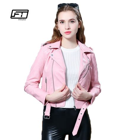 Faux Leather Wardrobe by Fitaylor 2017 New Faux Leather Jacket Sotf Pu
