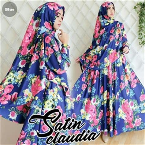 Fashion Wanita Muslim Setelan Gamis Syari Pashmina Rivada Bahan Jersey dress murah top tips