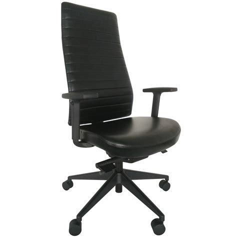 high back swivel chairs frasso leather high back swivel chair with adjustable arms