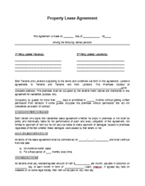 Agreement Letter Between Company And Customer Lease Agreement Template Format Template