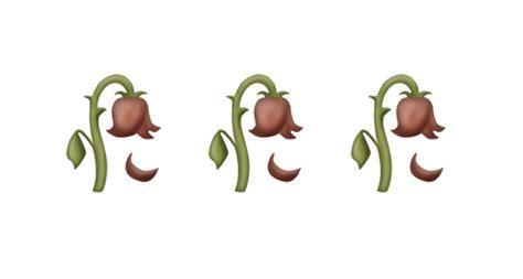 emoji rose emoji blog for days wilted flower emoji is a candidate