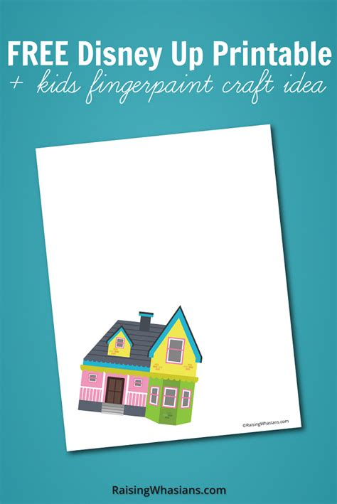 free printables for your home and closet up to date free disney up printable kids craft idea raising whasians
