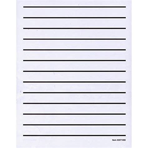printable low vision writing paper low vision writing paper bold line 1 pad health world