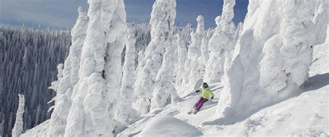 mount snow vermonts closest big mountain ski whitefish mountain ski resort getoutskiing com
