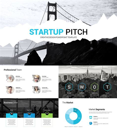 20 Best Pitch Deck Templates For Business Plan Powerpoint Presentations Startup Pitch Deck Template