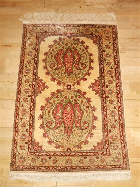 silk rugs turkish hereke silk rug 299847 sellingantiques co uk