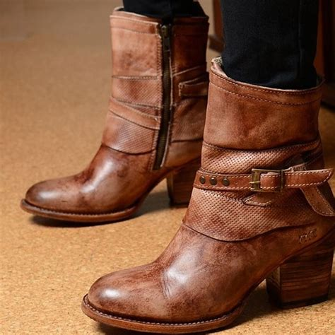 bed stu ankle boots 58 off bed stu shoes bed stu rowdy teak leather short