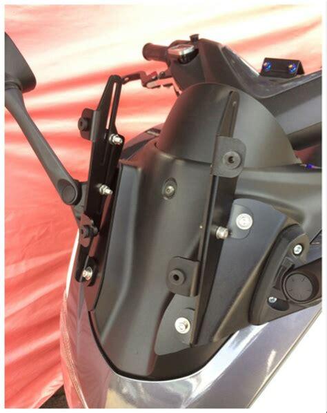 jual bracket serpo nmax bracket spion dan bracket windshield cat hitam baru aksesoris visor