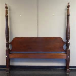 king sized councill mahogany 4 poster rice bed