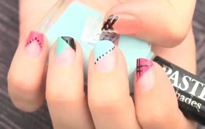 imagenes de uñas pintadas bonitas os ense 241 amos como decorar vuestras u 241 as fac 237 l y