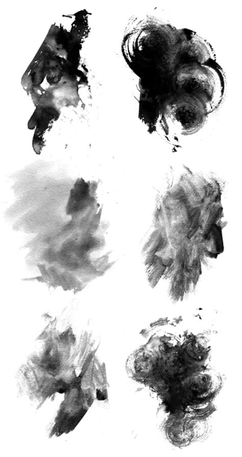 layout photoshop brushes free high res photoshop brushes grungy watercolor