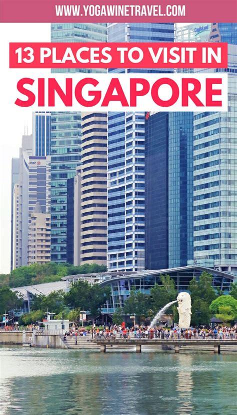 places  visit  singapore   days