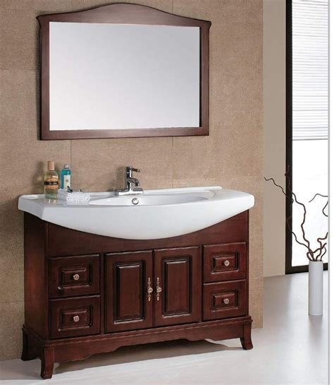 european style solid wood bathroom vanity classic with