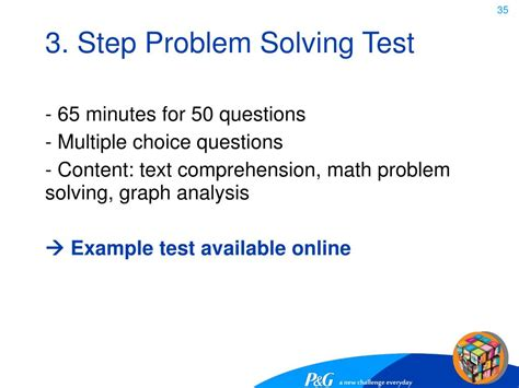 problem solving test ppt a new challenge everyday powerpoint presentation