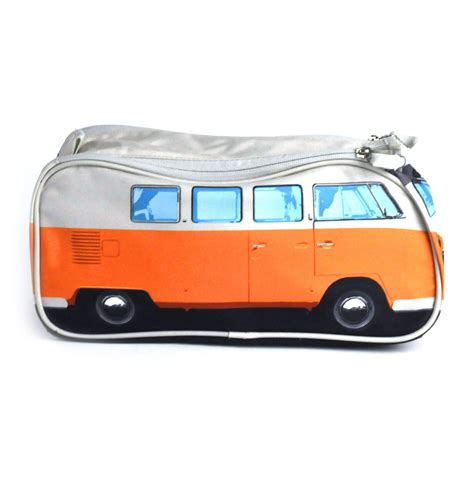 orange volkswagen van orange volkswagen cer van wash bag ebay