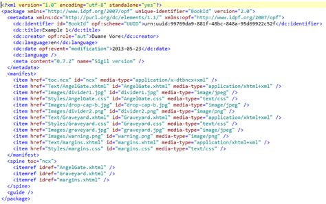 ebook format opf html and css for e book self publishers part 4 epub
