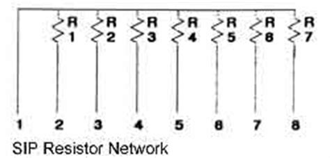 resistor network diagram reliable electronics manufacturing