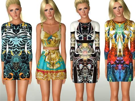 Rosela Set Dress 78 best images about sims 3 clothes on dress