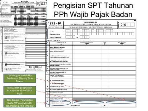 Contoh Dan Cara Pengisian Spt Tahunan Pph Badan 1771 Tahun 2011 Home | contoh dan cara pengisian spt tahunan pph badan 1771 tahun