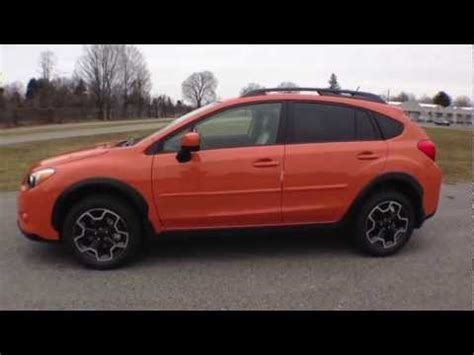 subaru orange crosstrek 2013 tangerine orange subaru crosstrek ruge s subaru