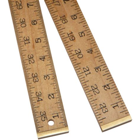 bench ruler wooden rules marking and measuring tools