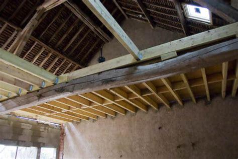 Faire Un Plancher Dans Une Grange by Plancher 1er 233 Tage La Grange