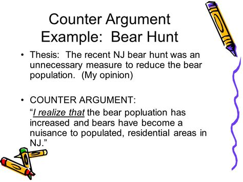 counter argument the opposition ppt video online download