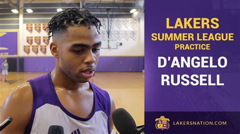 d angelo russell talks luke walton jesse mermuys