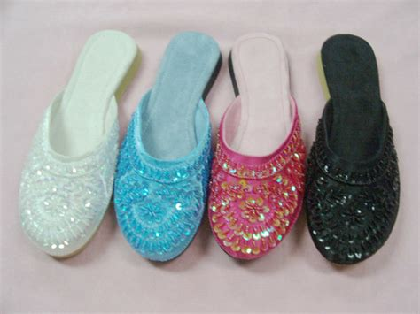 beaded slippers china craft beaded slipper 04f0088 china
