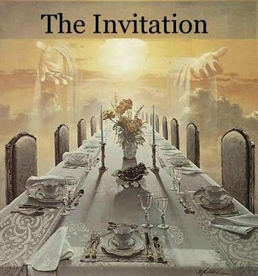 Marriage feast of the lamb parables