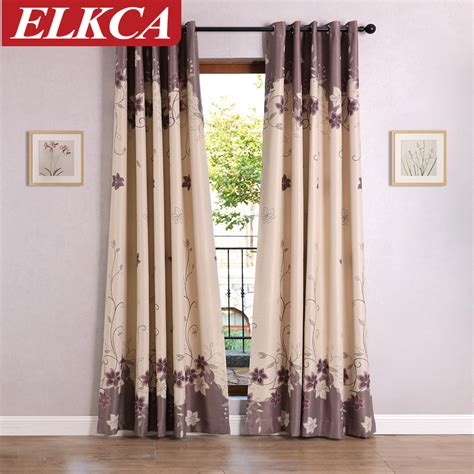 blackout kitchen curtains aliexpress com buy 2016 modern design lily blackout